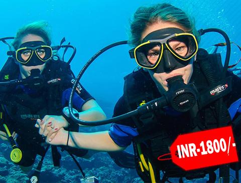 scuba diving package tarkarli
