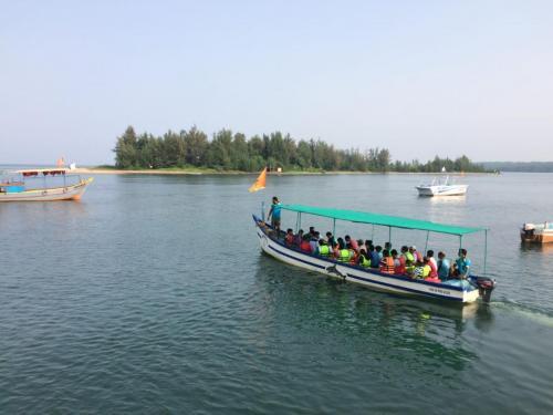 Boating in Sarjekot