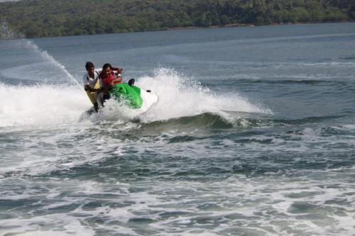 Jet Ski Ride In Malvan