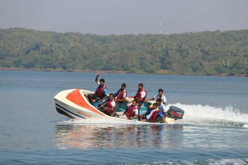 Speed Boat In Malvan